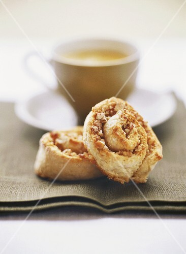 Hazelnut buns