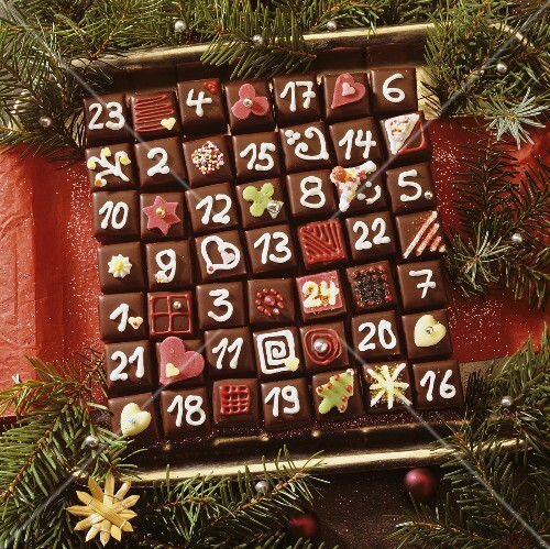 Domino Advent calendar