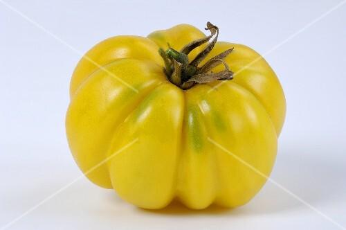 Tomato, variety 'Yellow Ruffled'