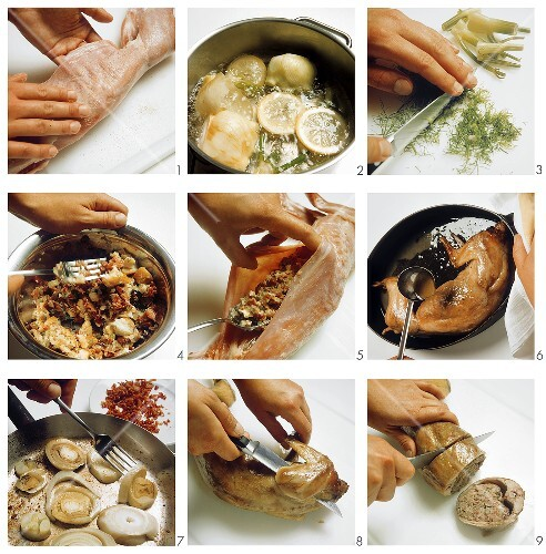 Preparing Coniglio in porchetta - final image: 025922