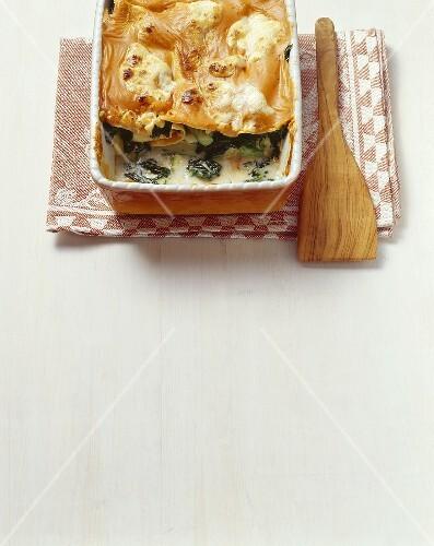 Lasagne verdi (Rocket and vegetable lasagne, Emilia-Romagna)