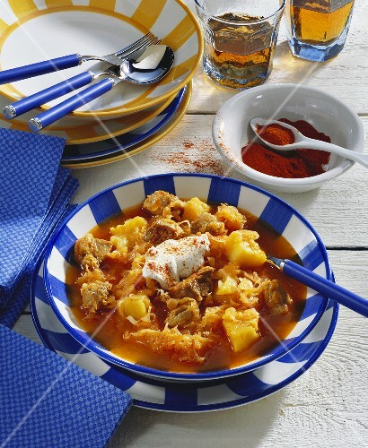 Szeged goulash (Hungary)