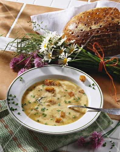 Bread soup (Bavaria, Germany)