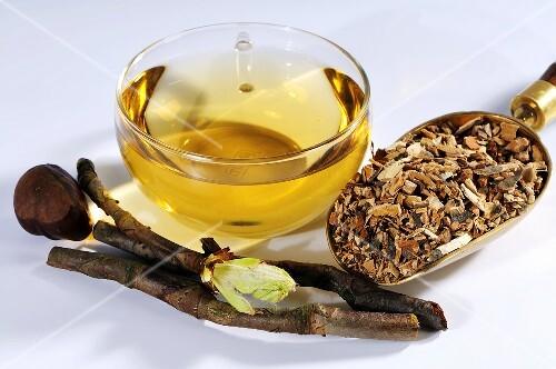 Horse chestnut tea and bark