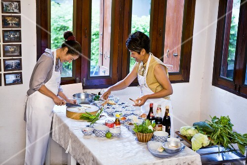 Thai Women Cooking License Images