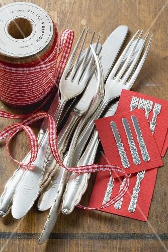 Rustic cutlery