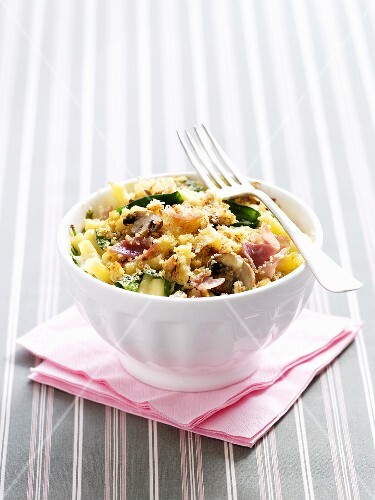 Macaroni and Cheese mit Gemüse