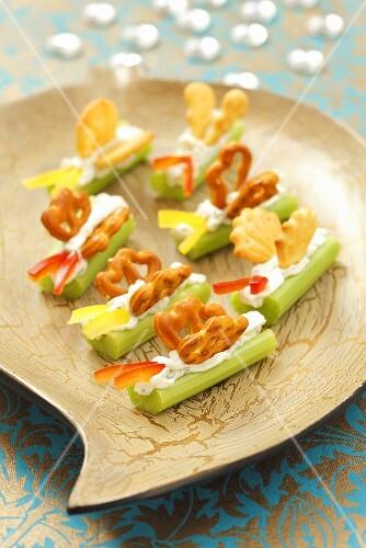 Celery butterflies