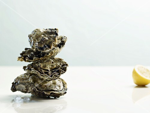Tower of oysters