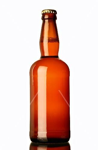 Eine Flasche Bier