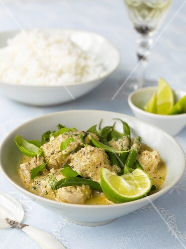 Green chicken curry (Thailand)
