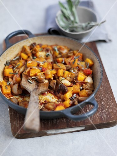 Ratatouille with butternut squash