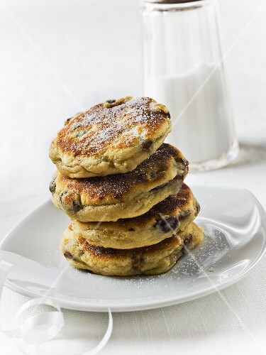 Welsh Cakes (traditional pancake from Wales, England)