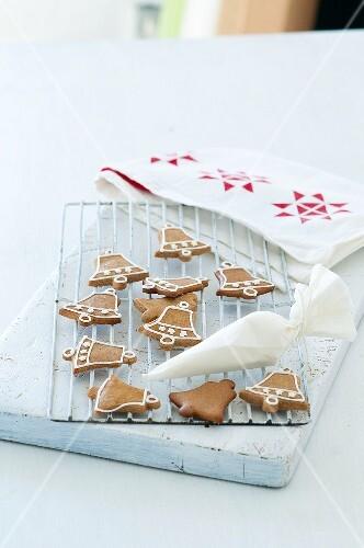 Bells made of gingerbread