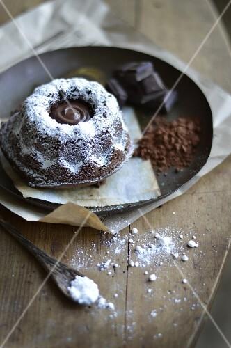 Small all chocolate Kouglof