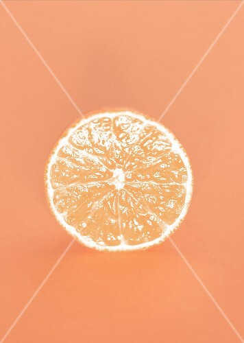 Slice of mandarin orange