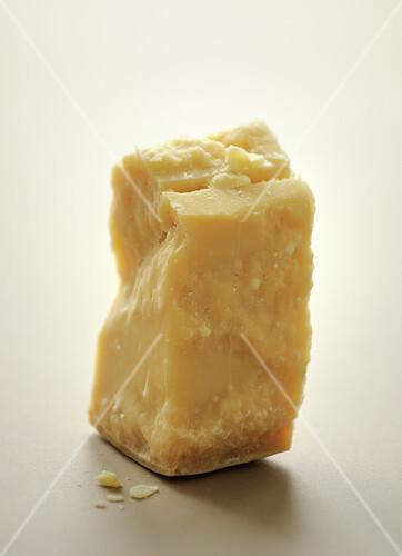 Piece of parmesan