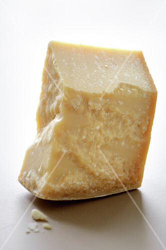 Piece of parmesan