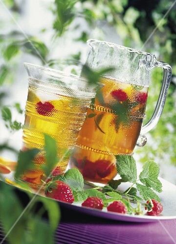 iced tea outdoors