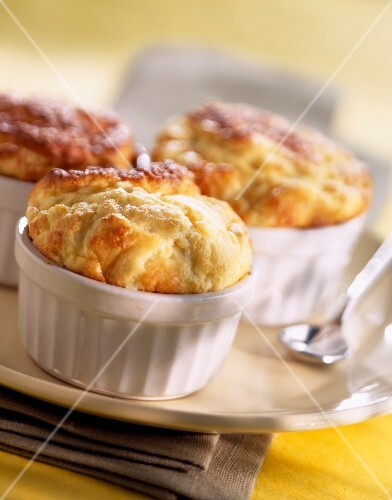 Individual cheese soufflés
