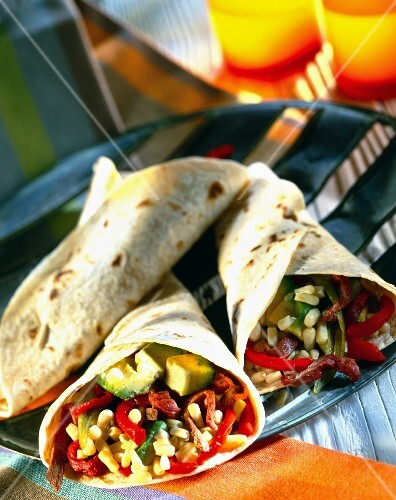 Tortillas stuffed with Enchiladas