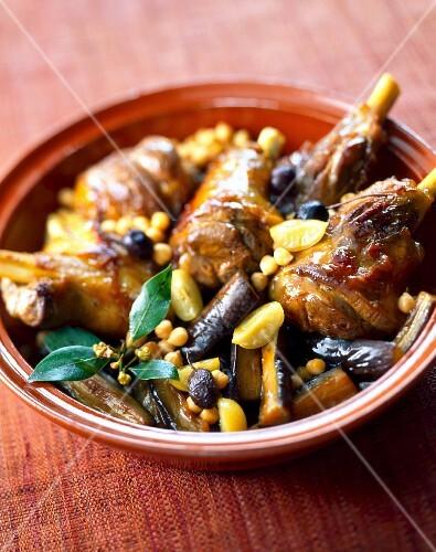 Lamb,eggplant and confit citrus Tajine