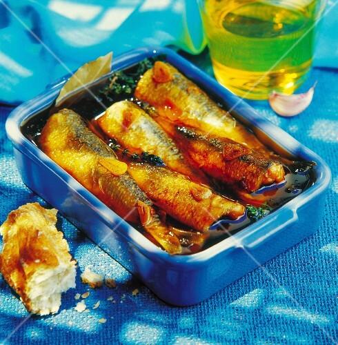 Sardine marinade