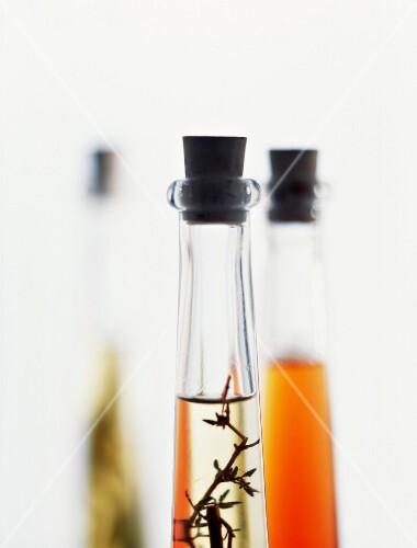 Tarragon-flavored vinegar