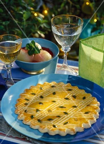 Galette Charentaise Flacher Kuchen Mit Engelwurz Charente Und