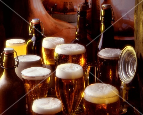 Composition of beer