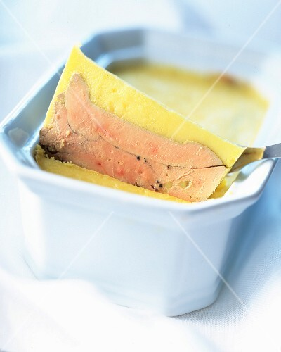 Homemade foie gras