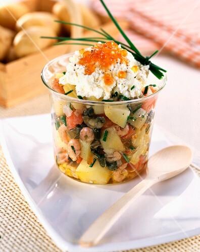 Potatoes and shellfish