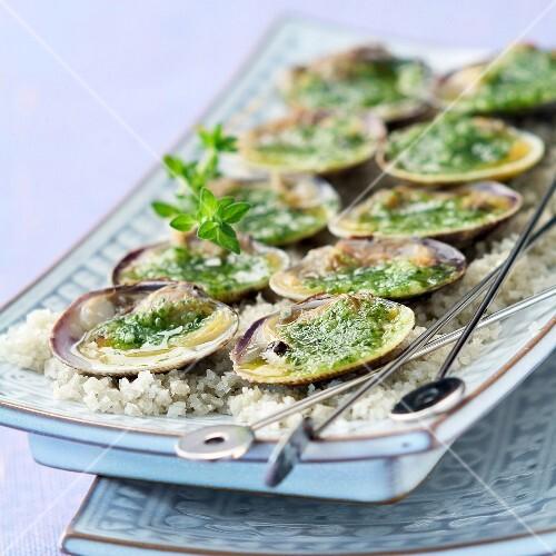 Stuffed clams