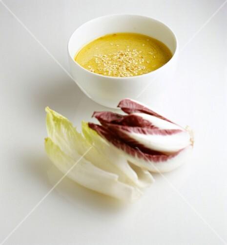 French dressing sesame seeds