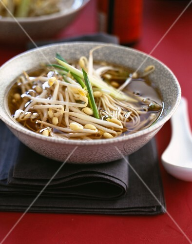 bean sprout nage soup