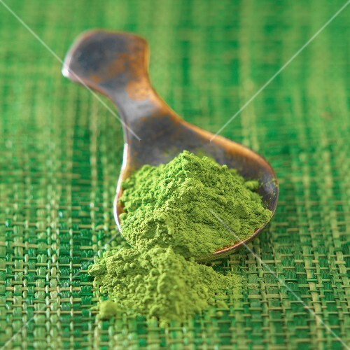 Powdered Matcha green tea