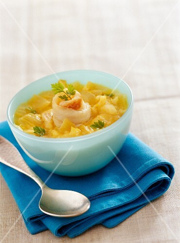 Creamed fish soup