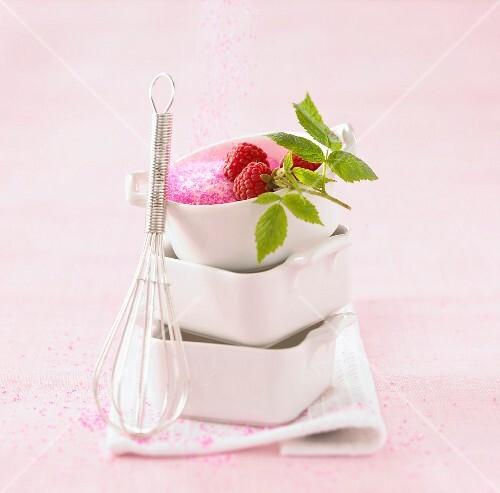 Raspberry and sugar