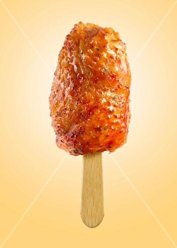Chicken ice cream lolly