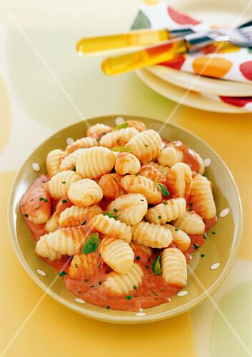 Gnocchis with cream