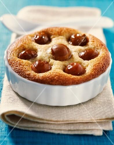 almond plum tartlet