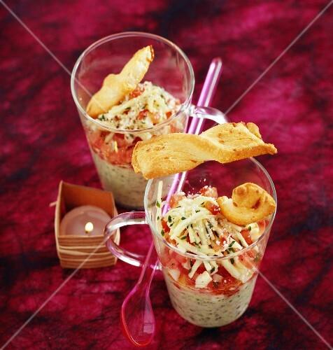 Zucchini cocktails