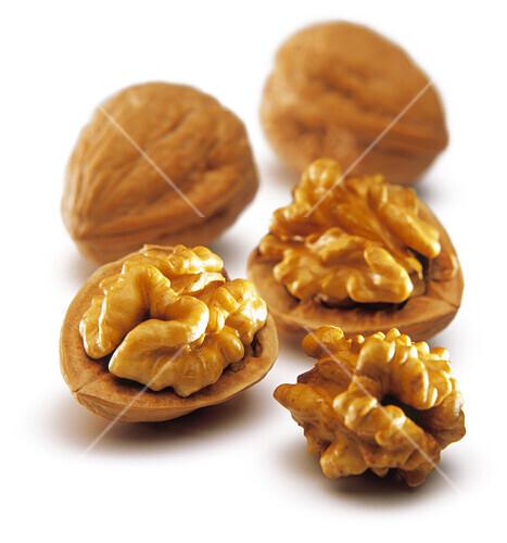 Walnuts in shells