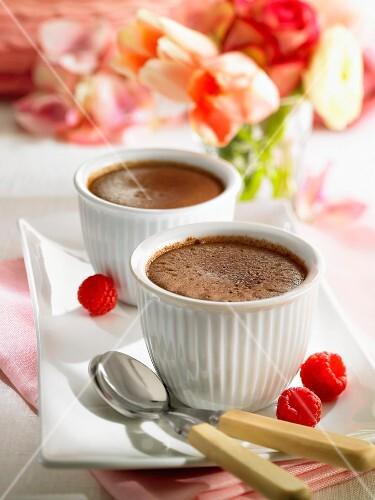Fondants au chocolat (rich chocolate cakes)