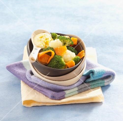 'Earth & Sea' salad