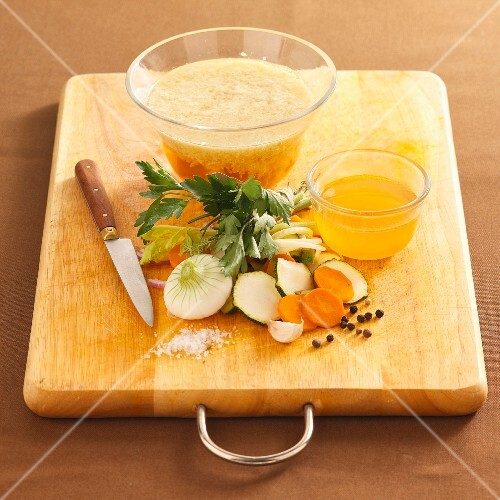 Vegetable stock