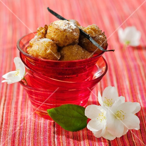 Crespet (deep-fried carnival pastries, France)