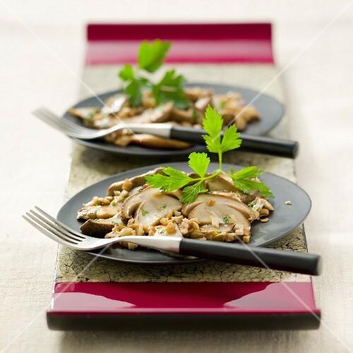 Porcini mushrooms from Bordeaux