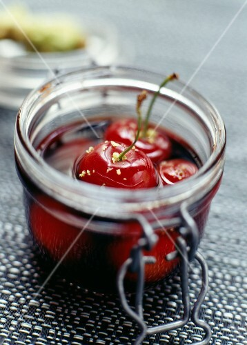 Cherries in sherry