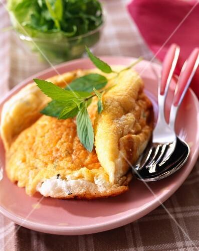 Fromage frais omelette